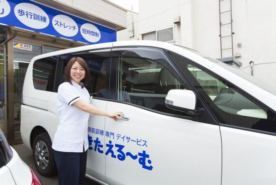 土日休みの送迎ドライバー/短時間勤務 選べる時間帯!!